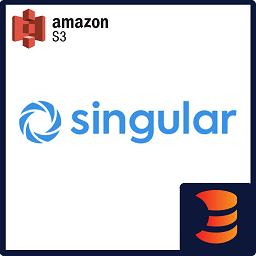 Singular to S3 Downloader logo