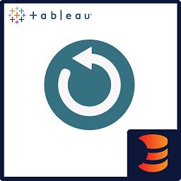 Tableau Refresher logo